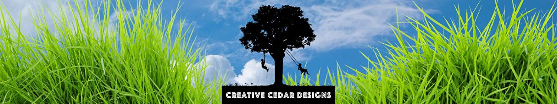 CREATIVE CEDAR DESIGNS header