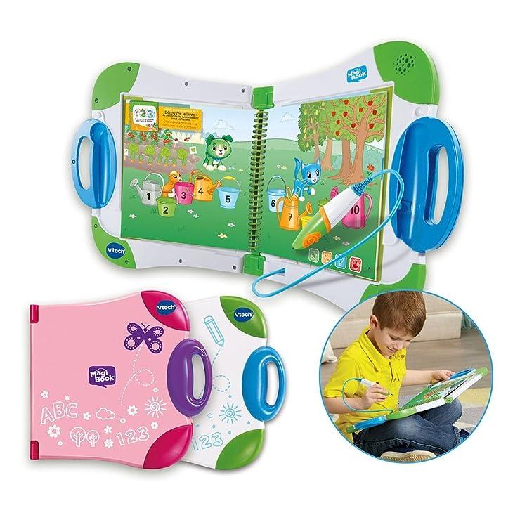 MagiBook · Sistema de aprendizaje interactivo - A través de libros con los que el niño podrá interactuar con su lápiz mágico para resolver problemas y jugar ...