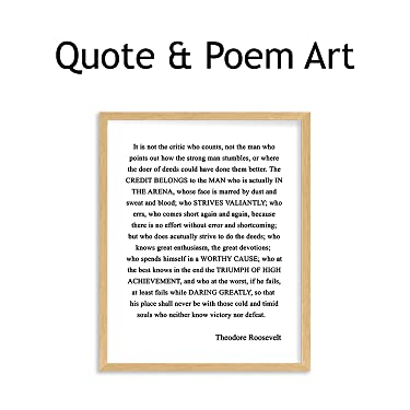 quote & poem wall art