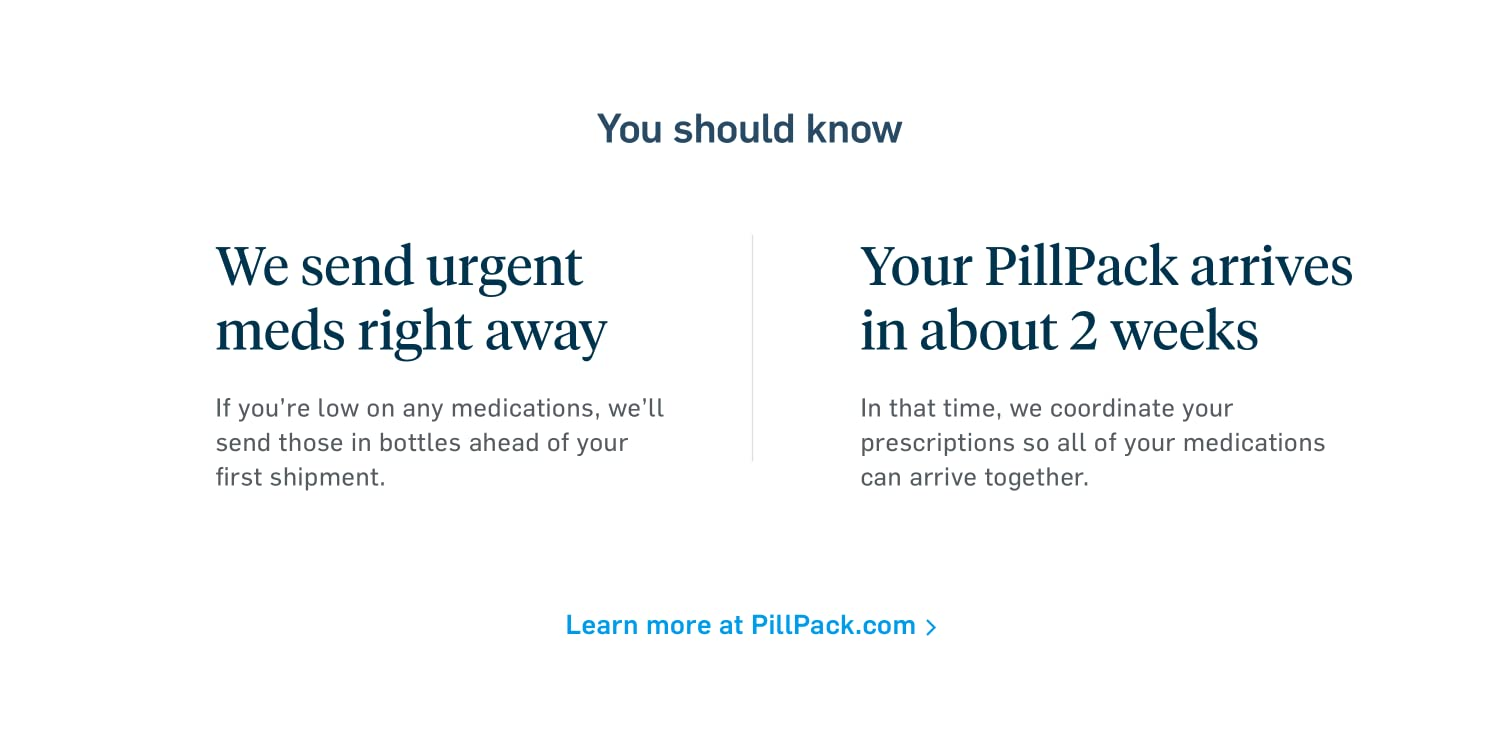 Amazon.com: PillPack by Amazon Pharmacy : How it Works