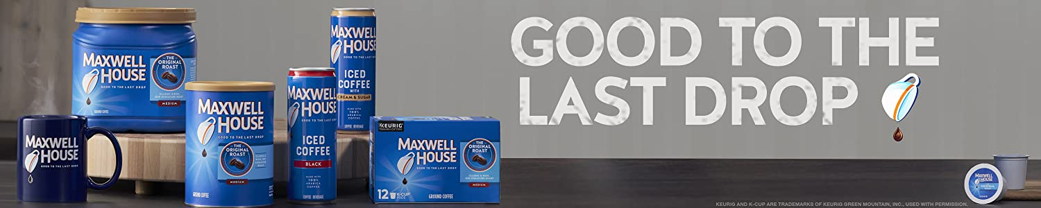 MAXWELL HOUSE header