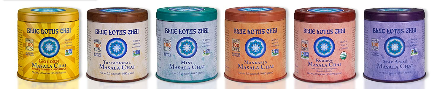 Blue Lotus Chai header