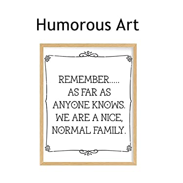 humorous & funny wall art