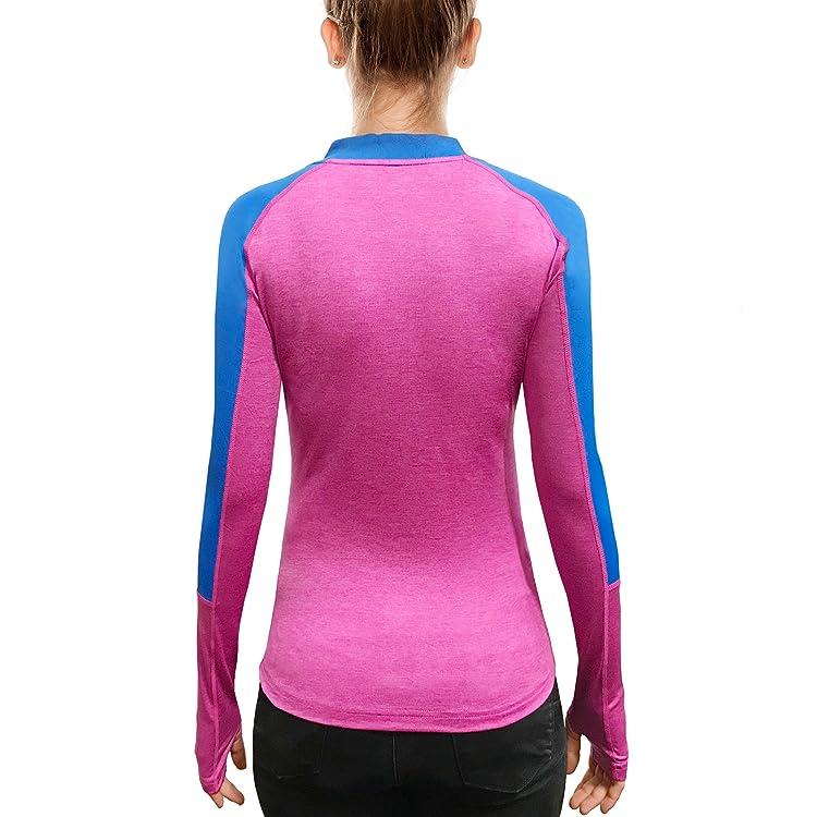 Neustile Women Light Fall Active Top with Short Zipper Fitness for Morning /& Evening Workout Running Yoga