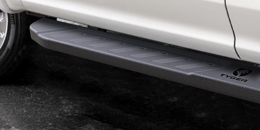 78 Long /& 6.6 Wide Tyger Auto TG-BL2T7088 Blade Running Boards Fit 2007-2019 Toyota Tundra Double Cab Side Step | Textured Black Nerf Bars