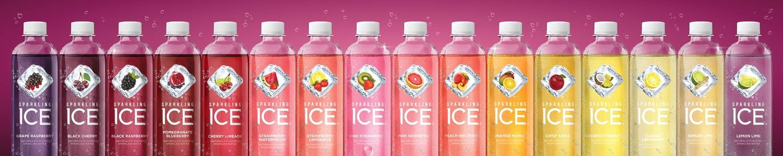 Sparkling ICE header