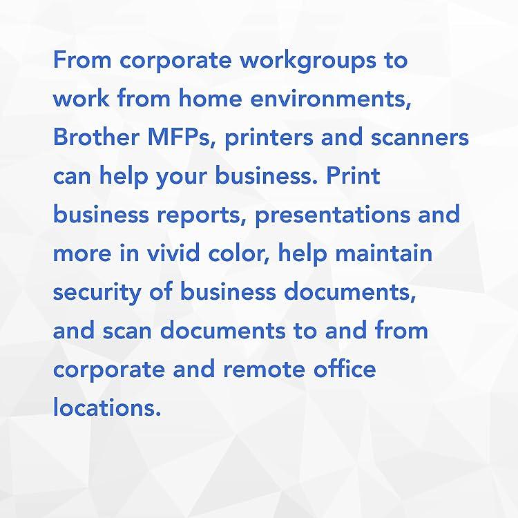 Amazon com: Brother Printer: Corporate