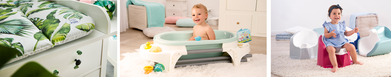 TOP//Bella Bambina Bol de lavage Rotho Babydesign /À partir de la naissance 20006 0288 rose fonc/é 4l Mauve fantastique