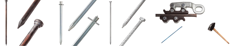 IGEL Erdnagel Typ 053 25x580mm Doppelkopfnagel