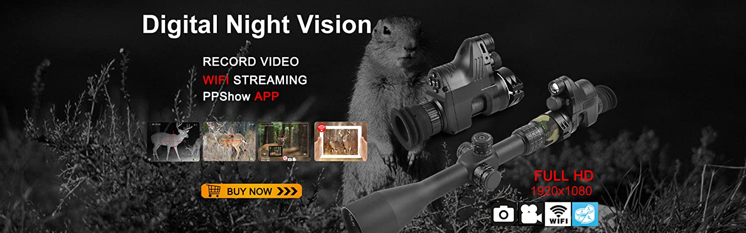 UPGRADE bestsight DIY Digital Night Vision Scope for Rifle Hunting with HD...