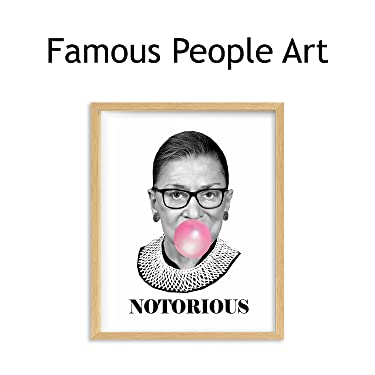 famous people wall art