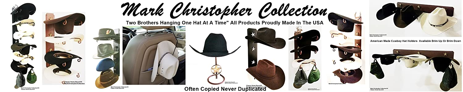 eac3d1476ff Mark Christopher Collection. Mark Christopher Collection American Made Cowboy  Hat Holder ...