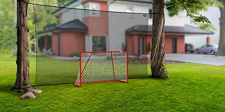Realistic Graphics Acon Wave G183 Goalkeeper Compatible with Any Official Size 72 x 48 inch Hockey Goals