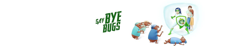 Amazon Com Say Bye Bugs