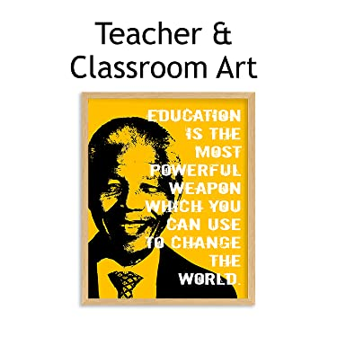 teacher & classroom wall art