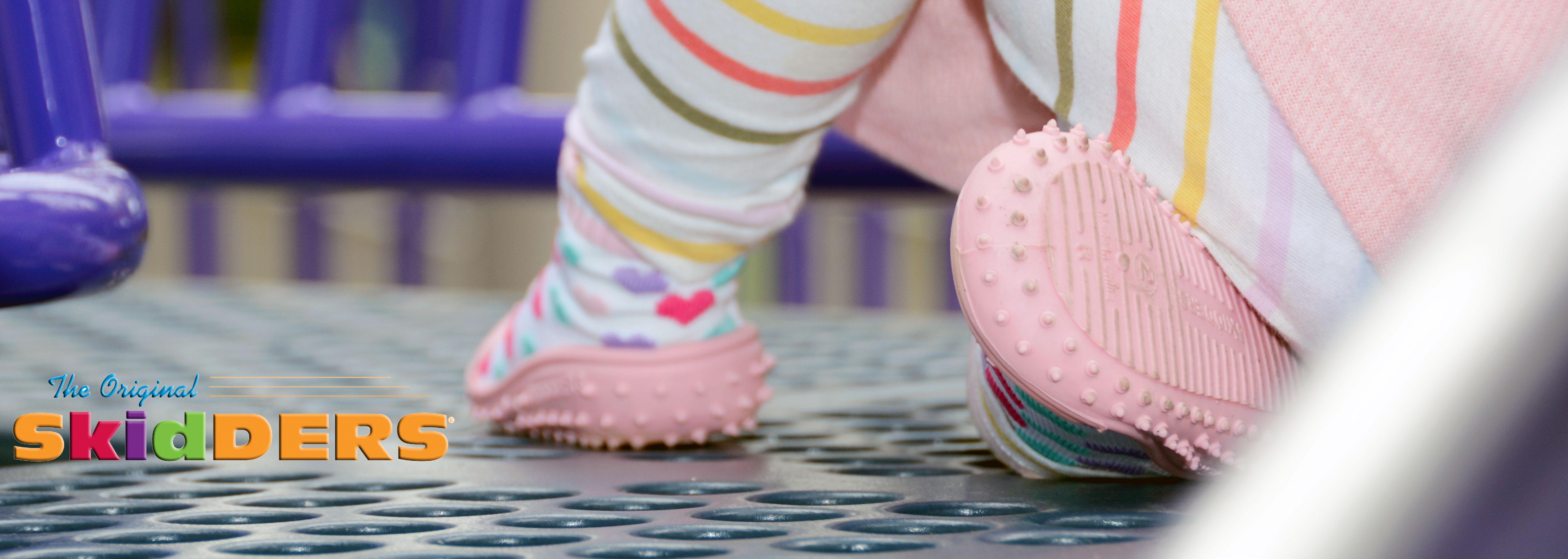 Sneakers 2 Pack Frog SKIDDERS Baby Toddler Boy Grip Socks Bundle