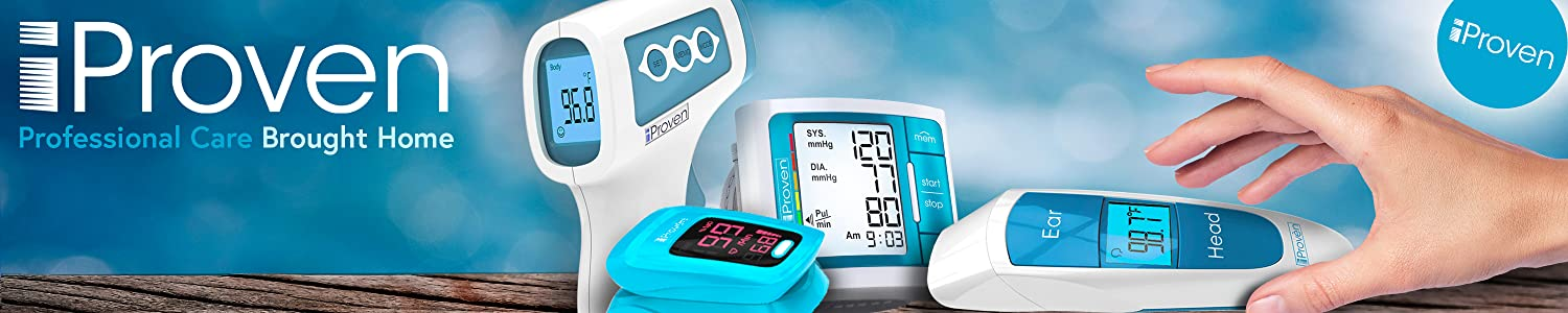 iProven Forehead and Ear Thermometer - Professional Medical Care Brought Home