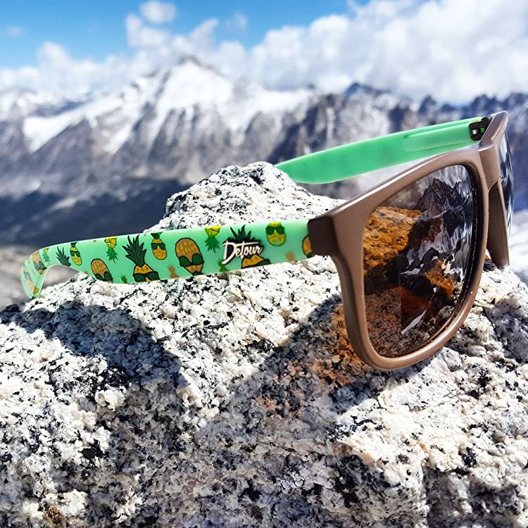 e7d8f790f1 Detour Sunglasses Eminence Edition come in Clean Black and Frosted Gray  Frames