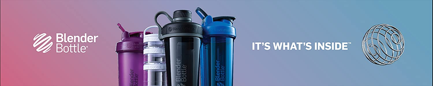 Blender Bottle header