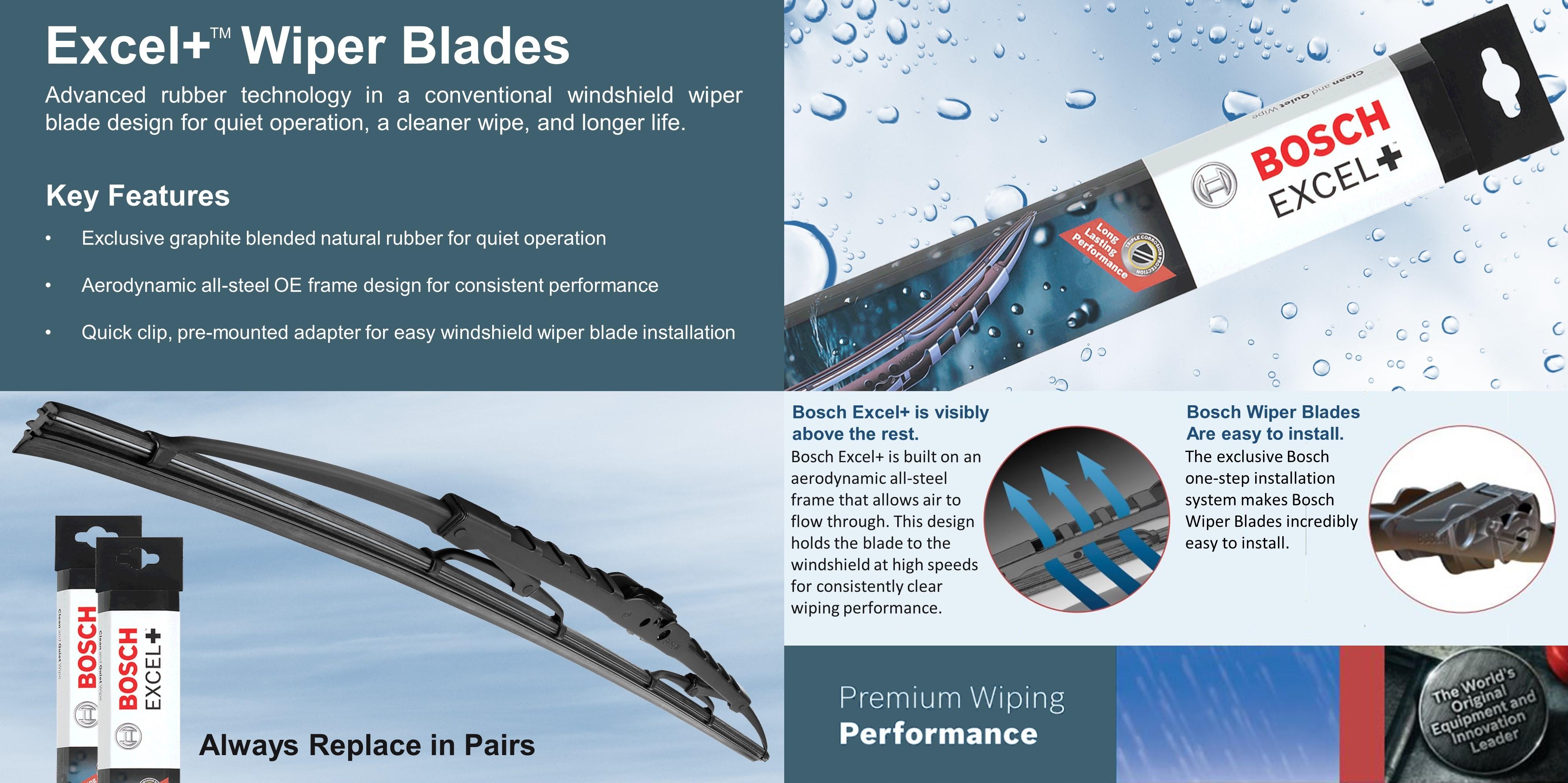 Windshield Wiper Blade-Excel Bosch 41920