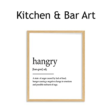 kitchen & bar wall art