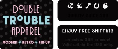 1805807a621d Amazon.com: Double Trouble Apparel
