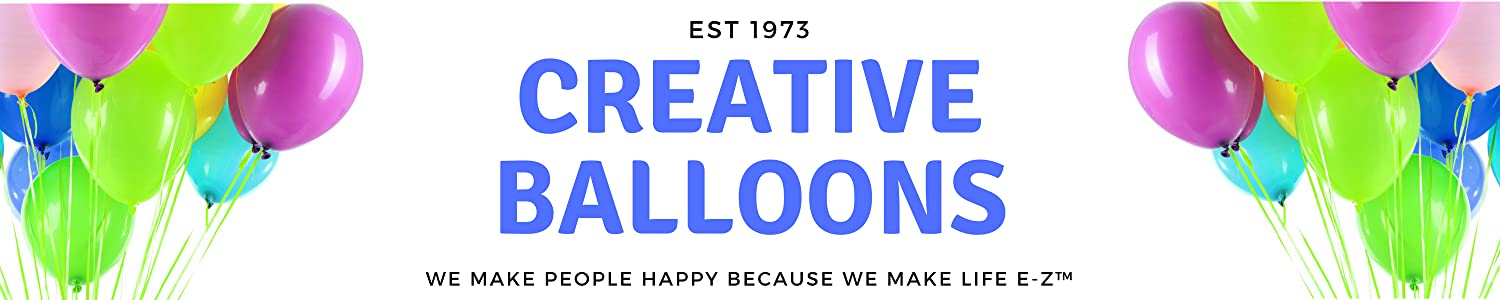 Creative Balloons Mfg. Inc. header