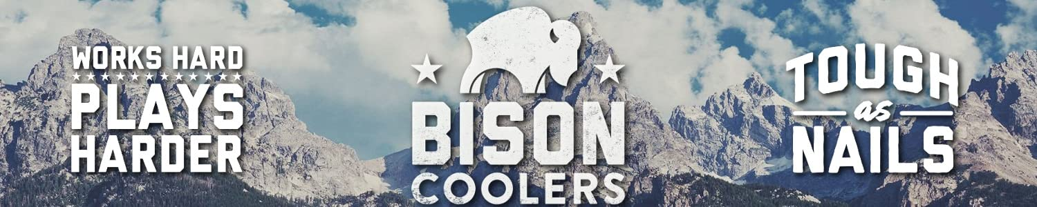 BISON COOLERS header