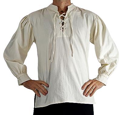Sleeveless Patchwork /'Freeman/' Medieval Shirt