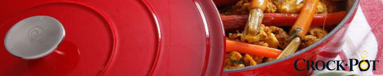 Gibson Overseas, Inc. Crock Pot Enameled Cast Iron