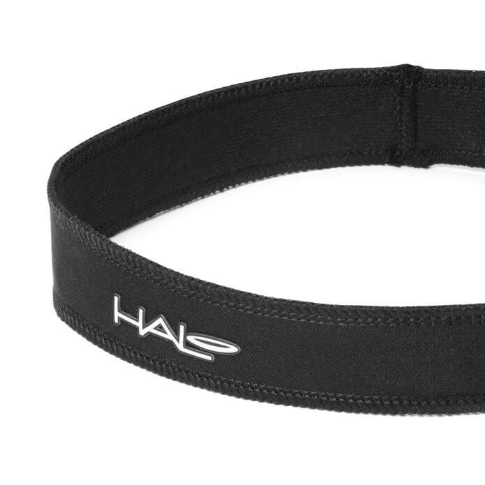 "3/"" Wide Blocks /& Divert Sweat Black Halo Headband Super Wide II Pullover"