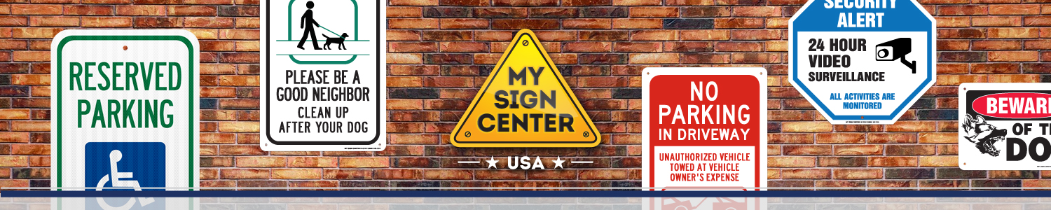 My Sign Center header