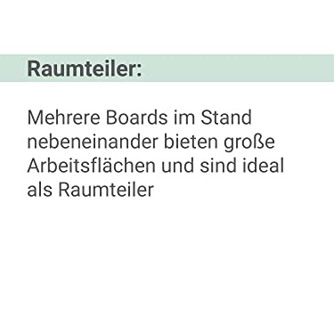 Rundspitze 1-3 mm schwarz trocken und feucht abwischbar SIGEL MU181 Whiteboard-Marker f/ür Meet up und Artverum Boards 4 St/ück gute Deckkraft non-permanent