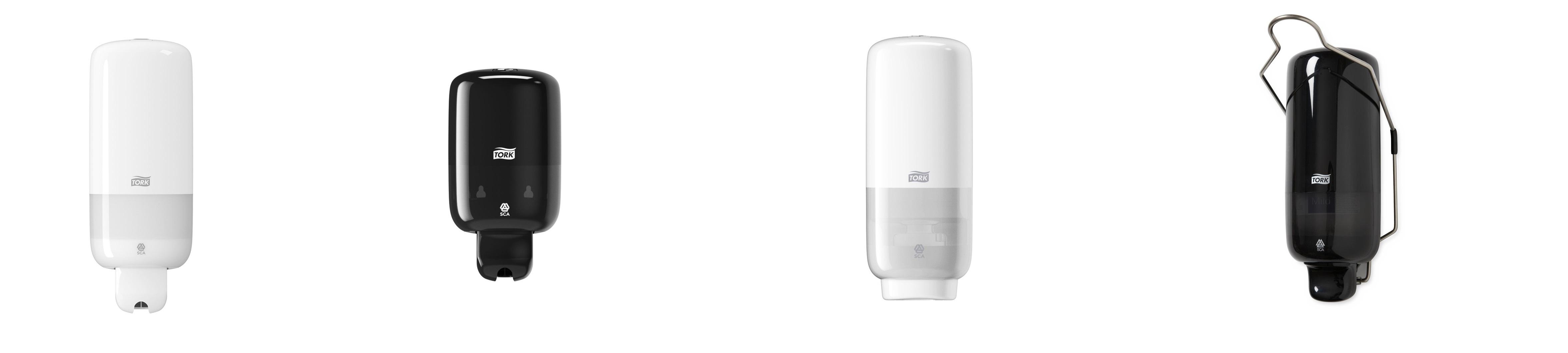 Tork 561600 Dispensador para Jab/ón en Espuma con Sensor Intuition Dosificador Elevation compatible con el sistema S4 Blanco