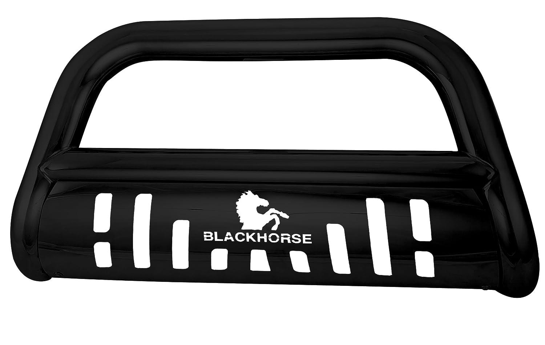 Black Horse Off Road BE-A1802B Black Steel 1 Pieces Bumper Push Bar Bull Bar