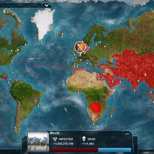 The Board Game Ndemic Creations Plague001 for sale online Plague Inc Inc