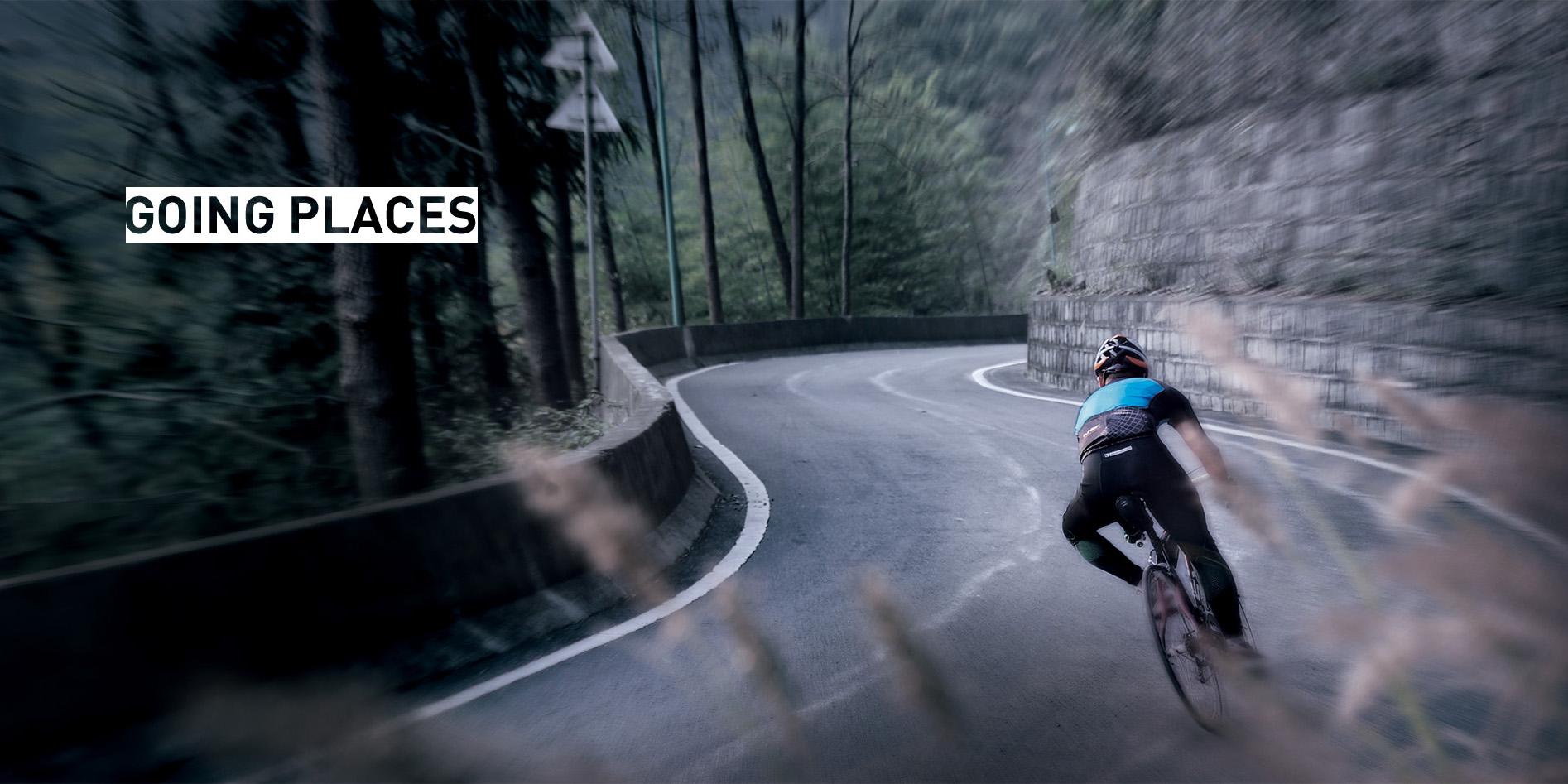 Black//Light Blue Roswheel 131396 Multi-Functional Bike Bag//Water Bottle Holder//LED Safety Light