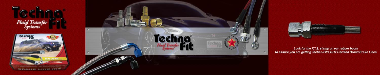 2 VOL-1218R Techna-Fit Brake Lines VOLVO 2000 V70 AWD REARS