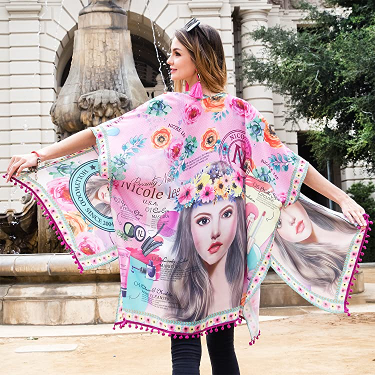 Nicole Lee Fashion Kimono