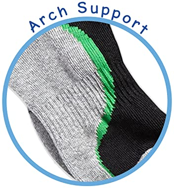 Boys Tech Sport Low Cut Socks Features