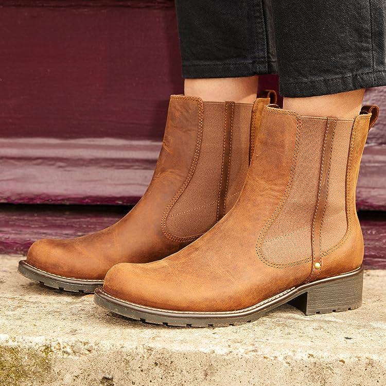 Mädchen Stiefel Clarks Stiefel, Leder,clarks ray sandale braun