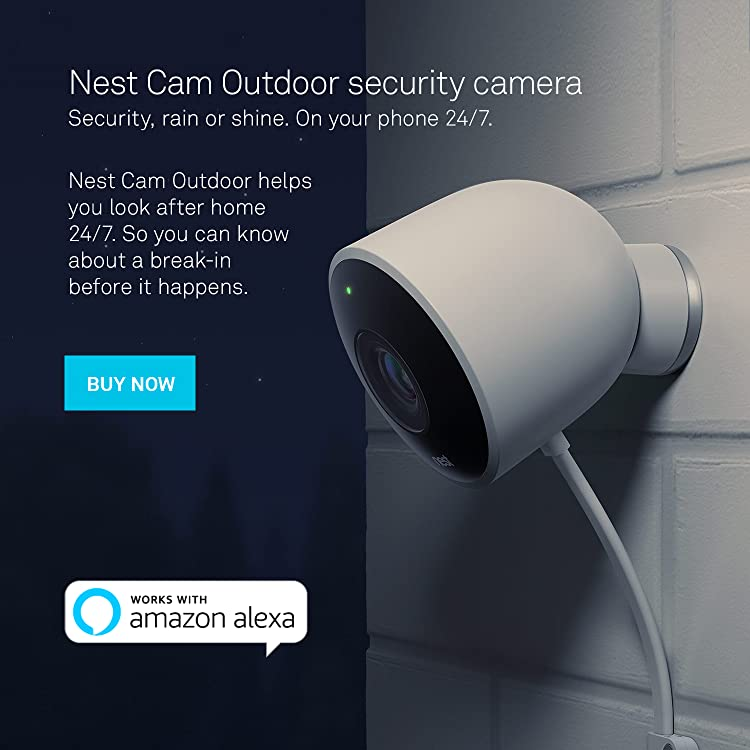 amazon com nest nest cam outdoor rh amazon com