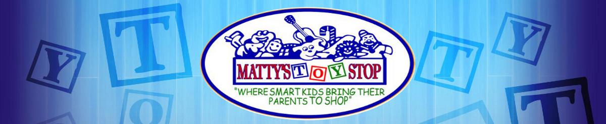 Matty's Toy Stop header