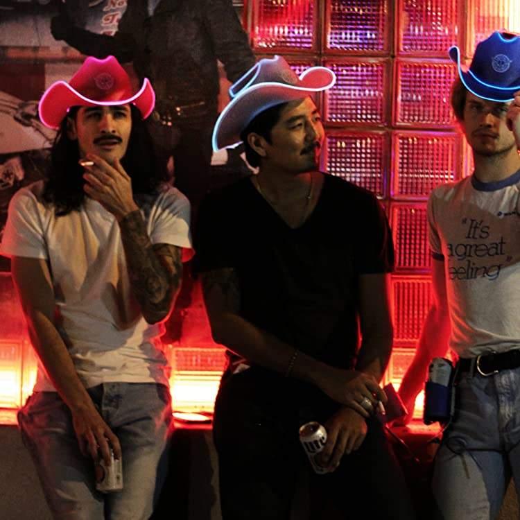 ad4ceecfde72a Amazon.com  Neon Cowboys  Light Up Cowboy Hats