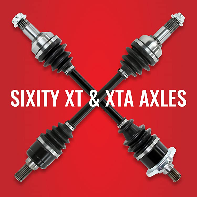 Sixity 2010 for Yamaha 700 Grizzly 4X4 Front Left Inner Axle Boot CV Kit ATV Joint Inside Inboard Driver YFM7FGP