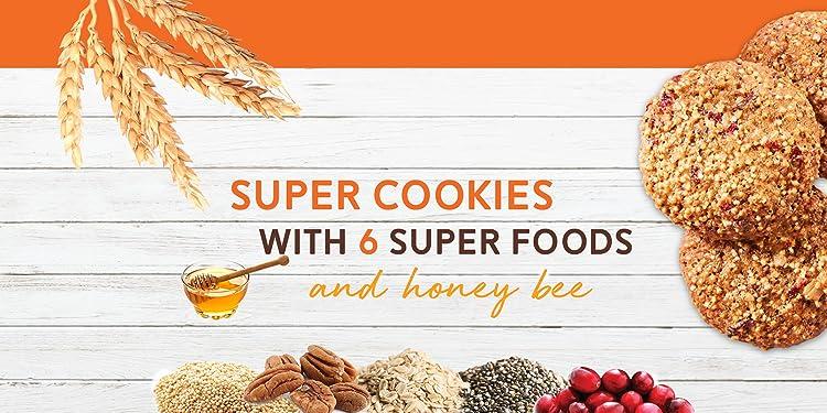 Super Cookies with Quinoa