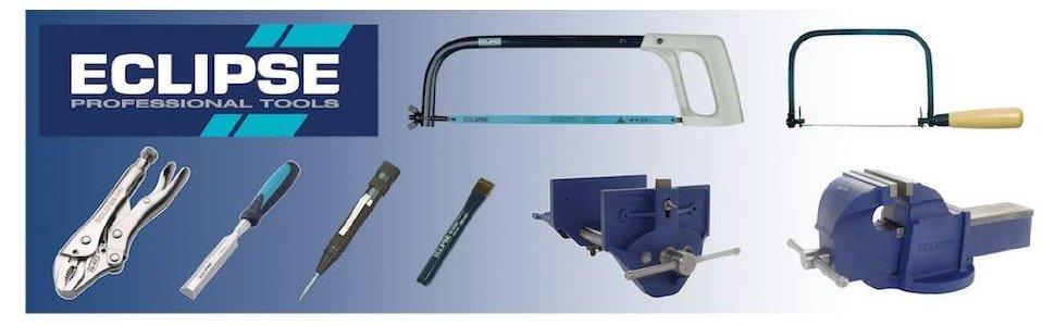 Eclipse Professional Tools Schraubzwinge EC-SCR12 blau und silber 12 300mm