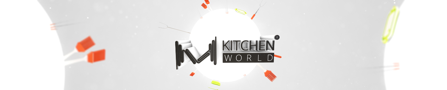 M KITCHEN WORLD header