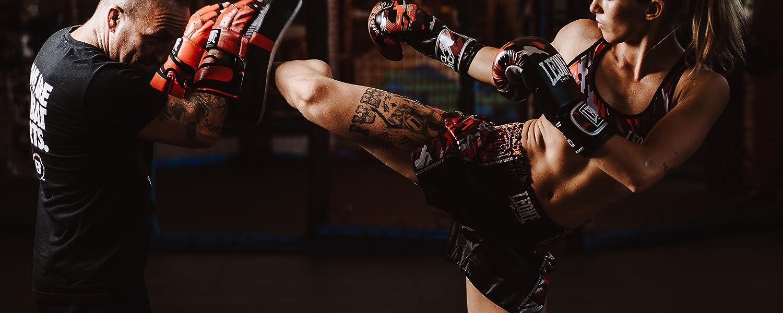 Pantaloncino Kick-Thai Donna Rosa S LEONE 1947 Blitz W