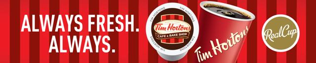 Tim Hortons header